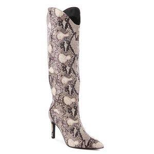 🆕 Snakeskin Boots